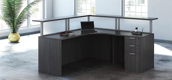 L Shaped Reception Desk | 6' x 6'