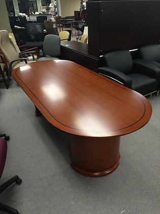 Sonoma Wood Veneer Conference Table - 8'