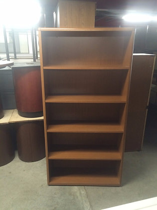 #140, Pre-Owned 5-Shelf Bookcases
