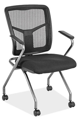 Nesting Chair with Mesh Back
