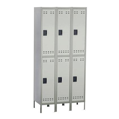 Double Tier Locker 3 Column