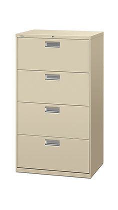"Brigade 4 Drawer Lateral File - 19.25""D x 30""W"