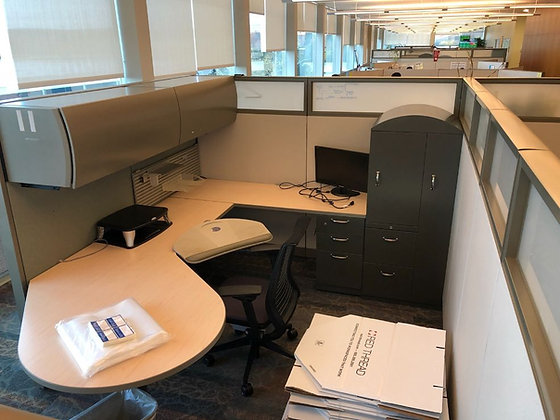 #287, Pre-Owned Steelcase Avenir Cubicles