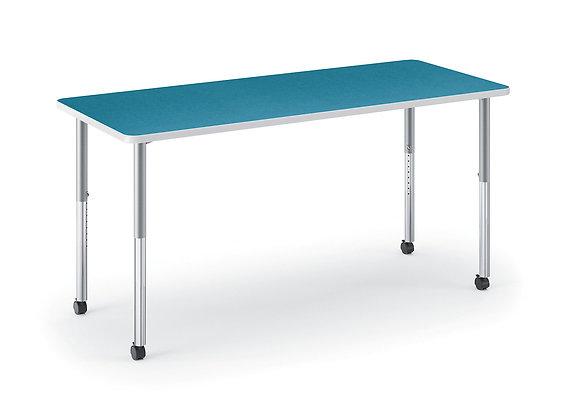 "Build Rectangle Table - 72""W x 30""D"