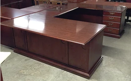 #72, Pre-Owned Executive U Shaped Desks