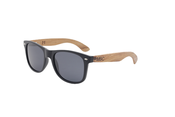BUBINGA WOOD POLARIZED BLACK