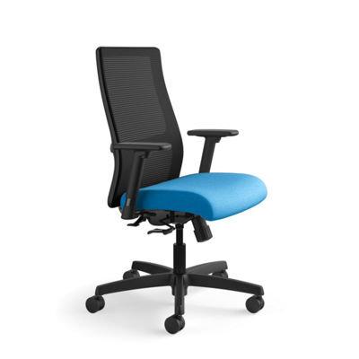 Mid Back Ergonomic Task Chair w/ Mesh Back