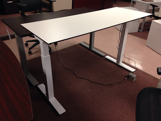 "Height Adjustable Tables - 30""D x 72""W"