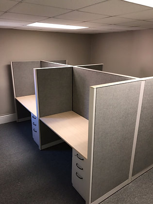 #459, Pre-Owned Steelcase Cubicles