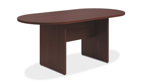 Hon Racetrack Conference Table W Mahogany - 72 conference table