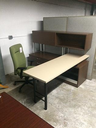 #152, Pre-Owned Steelcase L-Shaped Desks