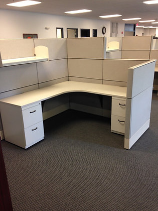#7, Pre-Owned 6' x 6' Haworth Cubicles
