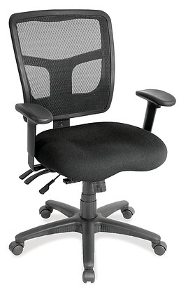 Multi-Function Mid Back w/ Seat Slider
