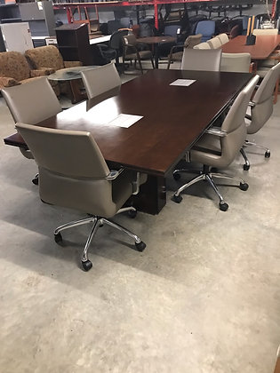 """#501, Pre-Owned Kimball Dock Conference Table 