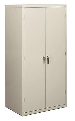 "Storage Cabinet, 5 Shelves, 24""D, Light Gray"