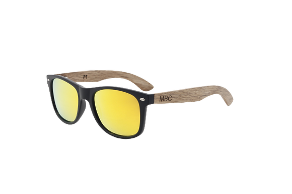 ZEBRA WOOD POLARIZED BUTTERSCOTCH