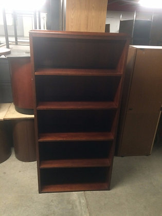 #35, Pre-Owned 5 Shelf Bookcase