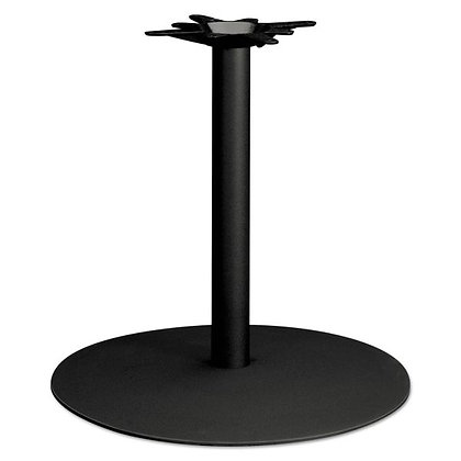 """Hon, Single Column Round Base, Seated Height for 42"""" Tops"""