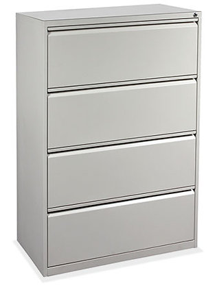 4 Drawer Metal Lateral File