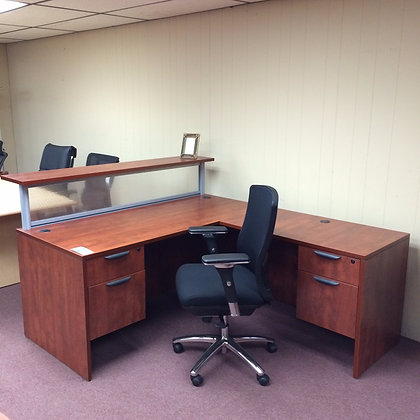 Reception Desk w/ Transaction Top