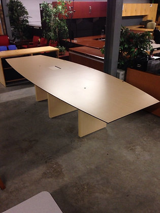 """#270, Pre-Owned 124""""x48"""" Conference Table"""