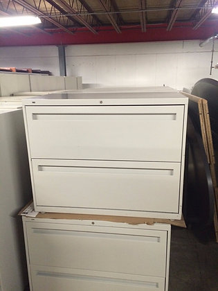 """#62, Pre-Owned 700 Series 36""""W 2 Drawer Lateral Files"""