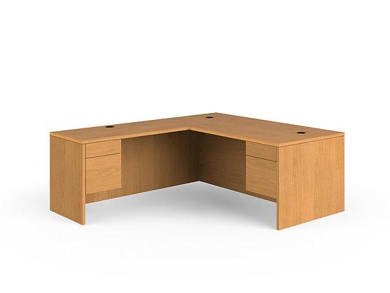 """L-Shaped 10500 Series Desk - 84""""D x 72""""W"""