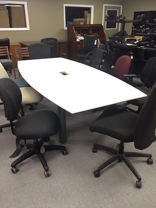 "#164, Pre-Owned 96"" Conference Table"