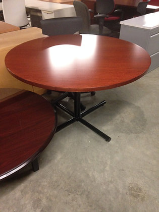 """#42, Pre-Owned Knoll 48"""" Round Tables"""