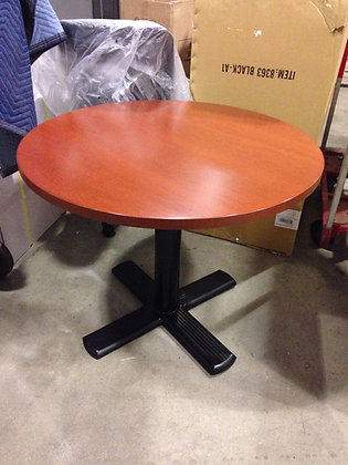 """#184, Pre-Owned Knoll 36"""" Round Tables"""