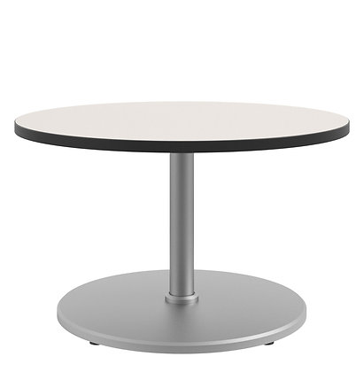 """Seated Height 36"""" Round Table with Disc Shroud 