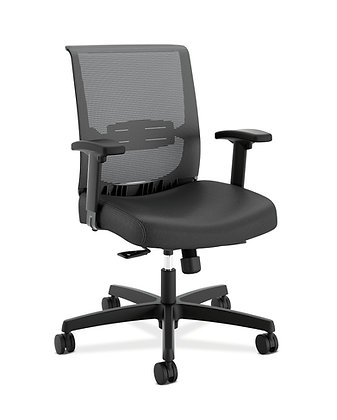 Ergonomic Task Chair | Vinyl Seat