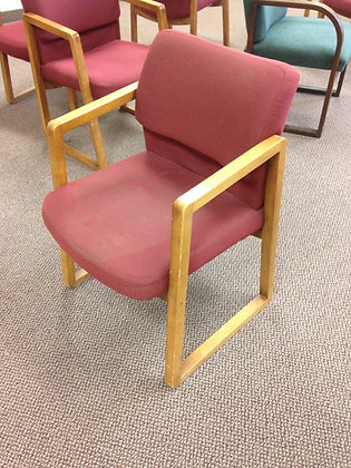 #198, Sled Base Guest Chairs