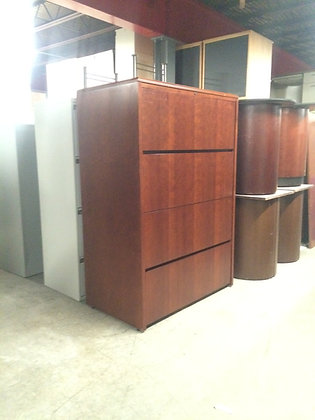 #155, Pre-Owned 4 Drawer Lateral File