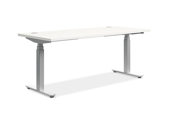 """Height Adjustable Table w/ 3 Stage Base - 30"""" x 72"""" Top"""
