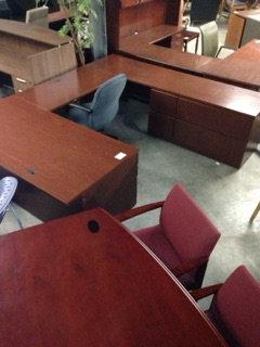 #12, Pre-Owned Knoll U Shaped Desks