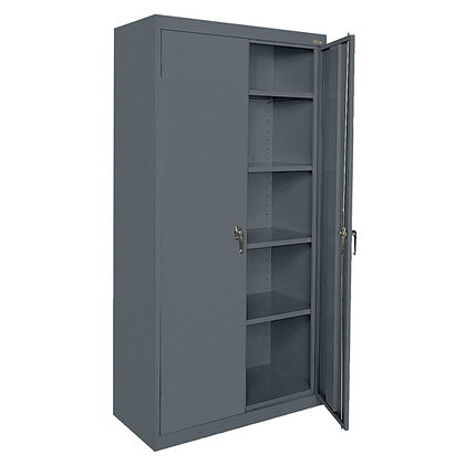 """Deluxe Storage Cabinet - 72""""H x 36""""W x 18""""D"""