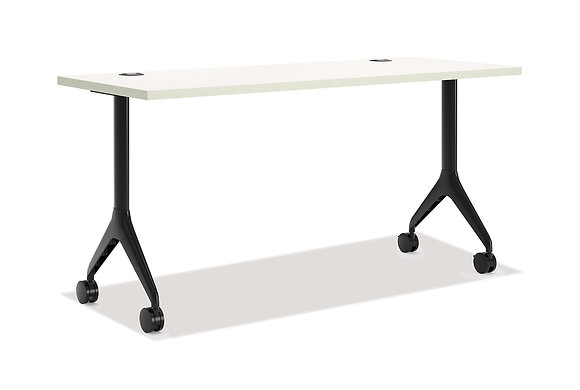 "Rectangular Table with Fixed Base - 24""D x 60""W"