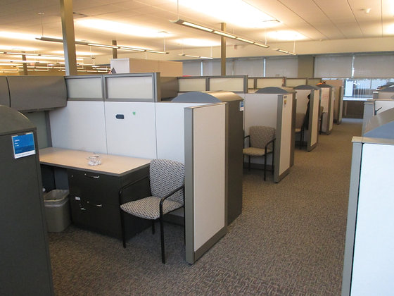 #438, Pre-Owned Steelcase Answer Cubicles
