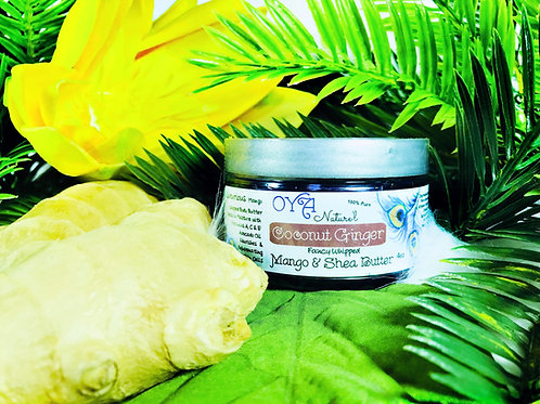Coconut Ginger Mango & Shea Fancy Whip