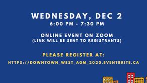 DWCA 2020 AGM - December 2