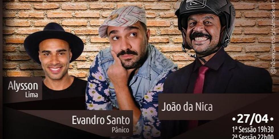 MARCUS CIRILLO - SÁBADO (09-OUT-21) - Sessão 22hs