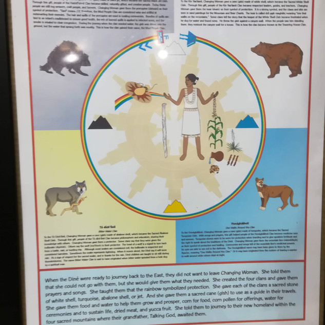 La légende Navajo - Diné Baa Haané
