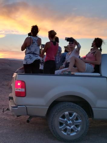 échanges avec des communautés locales sur la réserve Navajo