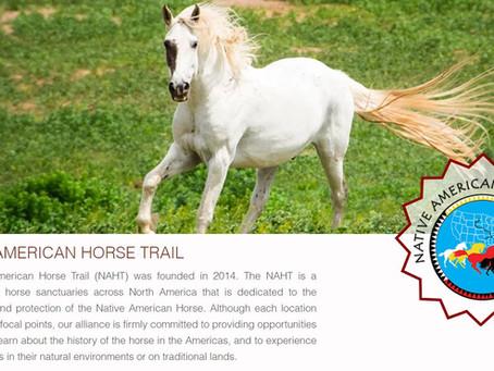 Aider NAHT - Native American Horse Trail - à  préserver les chevaux amérindiens.