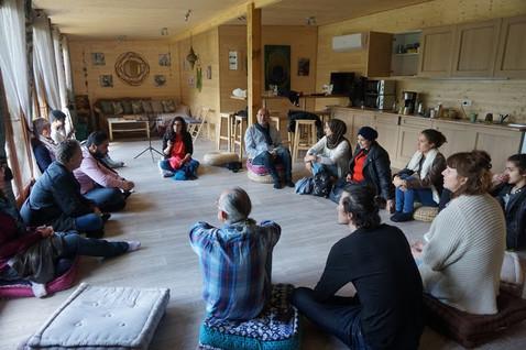 Intégration avec le cheval et l'association de réfugiés AMII (Association Actions et Médiation I