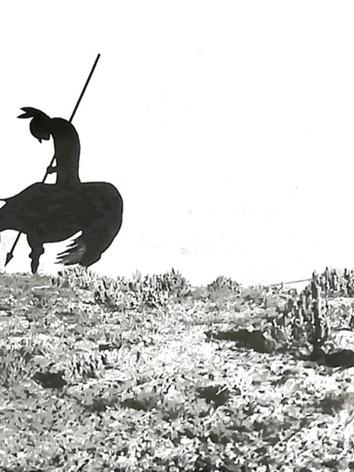 Ancient warrioir on Navajo Nation