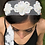 Thumbnail: Boho floral lace headband