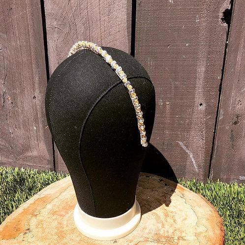 Gold Beaded Headband