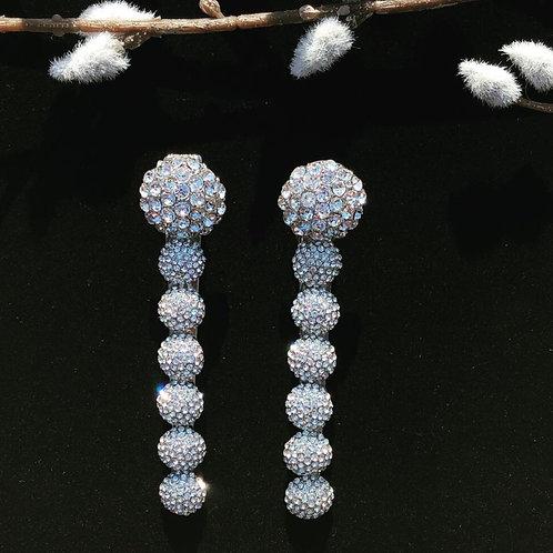 Wedding hair clip set